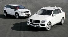 Lantlig stil: Range Rover Evoque, Mercedes ML