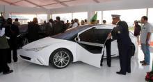 Prototyperna visades i Tripoli 2009.
