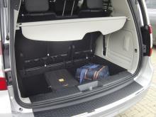 Du behöver inte välja mellan passagerare eller bagage, Voyager är en av de rymligaste bilarna på marknaden.