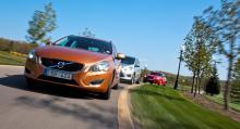Långteststallets Volvo V60 är när detta skrivs inne på sitt första riktiga verkstadsbesök. Det är styrservon som ska ses över. Risk finns för läckage som kan slå ut servoverkan.