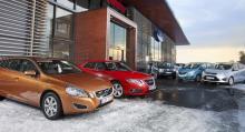 Årets långteststall: Volvo V60, Saab 9-5, Dacia Duster, Opel Meriva, Ford C-Max.