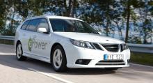 """""""Saabs senaste el-9-3 är en smart bil – men det är inte statens uppgift att driva en bilfabrik"""", säger Lena Ek."""
