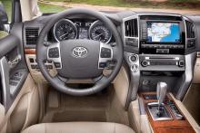 Toyota Land Cruiser V8.
