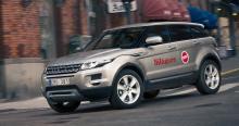 Evoque är lite av en Range Rover-version av Land Rover Freelander. Evoque har det fräcka utssendet och en luxuösare inredning.