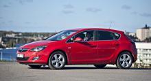 Opel Astra 1,4T Sport – 4 968 mil