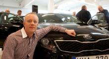 Produktchef Mauritz Larsson.