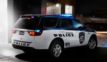 Dodge Durango i polisutförande.