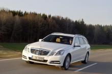 Mercedes E 300 Bluetec Hybrid.