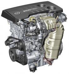 Opels nya 1,6-litersmaskin.