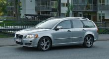 Volvo V50. Försvinner.
