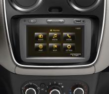 Dacia är inget lyxmärke men en bra multimediaanläggning/navigator för bara 430 euro är väl just lyx?