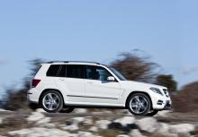 Mercedes GLK.