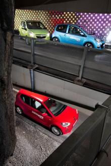 Renault Twingo och Chevrolet Spark på toppen och VW Up i botten. Men riktigt så slutade inte testet. Där blev resultatet istället det rakt motsatta.