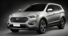Hyundai Santa Fe är en av modellerna som berörs.