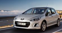 Även Peugeot 308 stod för en stark ökning med sina 22 procent.
