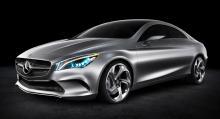 Bästa koncept: Mercedes Concept style coupé.