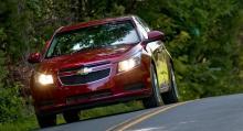 Chevrolet, med modellen Cruze i spetsen, är den ryska marknadens näst största aktör.