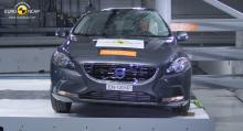 Euro NCAP:s krocktest omfattar bland annat kollisioner framifrån och med en stolpe från sidan.