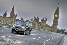 Nissan NV200 som London-taxi.