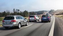 På långsträckta motorvägar passar terrängkombibilarna lika bra som på skumpiga grusslingor.
