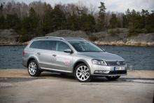 VW Passat Alltrack.