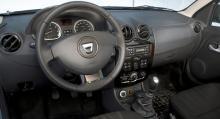 Långteststallets Dacia Duster.