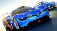 Tidigare i år visade Renault 400 hästkrafter starka konceptbilen Alpine A110-50...