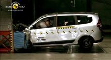 Dacia Lodgy: 3 stjärnor.