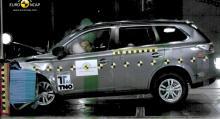 Mitsubishi Outlander: 5 stjärnor.