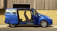 Ford B-Max – utan dörrstolpar.