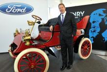 Bill Fords begbil har genom åren haft fem tidigare ägare.