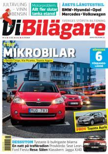 Kia Picanto testas i Vi Bilägare nummer 18/2012. Tidningen finns i butik från den 20 december.