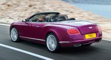 Bentley Continental GT Speed Convertible.