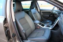 Framstolarna i Volvon tillhör bilvärldens bästa.