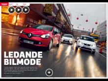 Om det finns en playknapp i artikeln kan du också se en film med bilen.