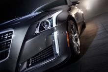 Nya Cadillac CTS.