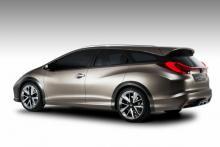 Honda Civic Tourer Concept.