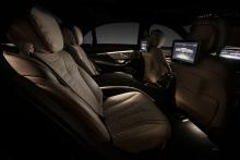 Nya Mercedes S-klass.