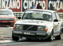 Volvo 242 Group A racecar.