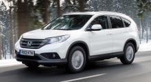 Hittills iår har Honda ökat med 44,75 procent till 1 698 registrerade bilar, varav 915 CR-V.