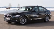 BMW 318d.