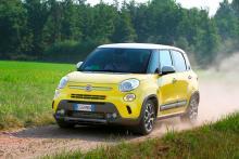 Den som vill ha Fiat 500L med terränglook satsar på Trekking.