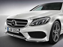 Mercedes C-klass AMG.