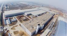 Volvos fabrik i kinesiska Chengdu öppnade tidigare i år.