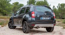 Billigaste Duster med 4WD och 105 hk bensinmotor kostar från 129900.