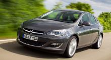 Nuvarande generationen av Opel Astra lanserades 2009.