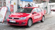VW Golf (2013) är den hittills värsta bränslesyndaren bland långteststallets konventionellt drivna bilar. Överförbrukningen efter ett års körning slutade på 47 procent. Den officiella siffran är 3,8 l/100 km, men vår testbil drog 5,6 l/100 km.