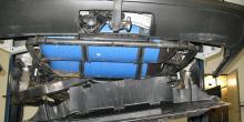 Plastkåporna på moderna bilars underrede bör demonteras ofta för att upptäcka rostangrepp i tid.