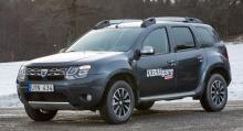 Dacia Duster 4x4.