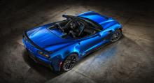 Chevrolet Corvette Convertible Z06 2015